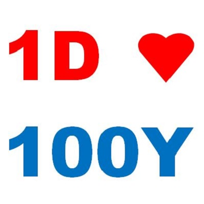 One Derection celebrate 100 years 1D = 100Y